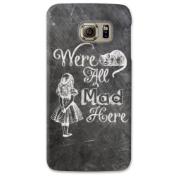 COVER ALICE WONDERLAND per SAMSUNG GALAXY SERIE S, S MINI, A, J, NOTE, ACE, GRAND NEO, PRIME, CORE, MEGA