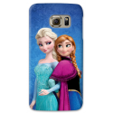 COVER ELSA E ANNA FROZEN per SAMSUNG GALAXY SERIE S, S MINI, A, J, NOTE, ACE, GRAND NEO, PRIME, CORE, MEGA