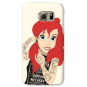 COVER ARIEL SIRENETTA TATTOO per SAMSUNG GALAXY SERIE S, S MINI, A, J, NOTE, ACE, GRAND NEO, PRIME, CORE, MEGA