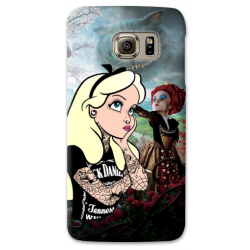 COVER ALICE TATTOO per SAMSUNG GALAXY SERIE S, S MINI, A, J, NOTE, ACE, GRAND NEO, PRIME, CORE, MEGA