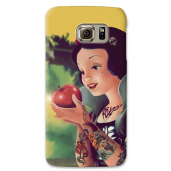 COVER BIANCANEVE TATTOO per SAMSUNG GALAXY SERIE S, S MINI, A, J, NOTE, ACE, GRAND NEO, PRIME, CORE, MEGA