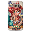 COVER ARIEL SIRENETTA TATTOO VINTAGE per SAMSUNG GALAXY SERIE S, S MINI, A, J, NOTE, ACE, GRAND NEO, PRIME, CORE, MEGA