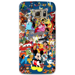 COVER DISNEY COLLAGE per SAMSUNG GALAXY SERIE S, S MINI, A, J, NOTE, ACE, GRAND NEO, PRIME, CORE, MEGA