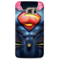 COVER SUPERMAN ARMATURA per SAMSUNG GALAXY SERIE S, S MINI, A, J, NOTE, ACE, GRAND NEO, PRIME, CORE, MEGA