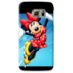 COVER MINNIE ON ICE per SAMSUNG GALAXY SERIE S, S MINI, A, J, NOTE, ACE, GRAND NEO, PRIME, CORE, MEGA
