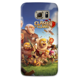 COVER CLASH OF CLAN per SAMSUNG GALAXY SERIE S, S MINI, A, J, NOTE, ACE, GRAND NEO, PRIME, CORE, MEGA